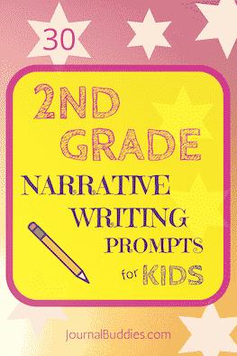 30 Narrative Writing Prompts for Second Grade ⋆ JournalBuddies.com