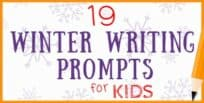 19 Winter Writing Prompts for Kids