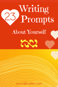 Writing Prompts about Yourself for Students