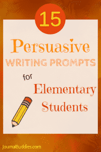 Persuasive Writing Prompts for Elementary Kids
