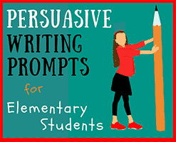 persuasive writing words for elementary students