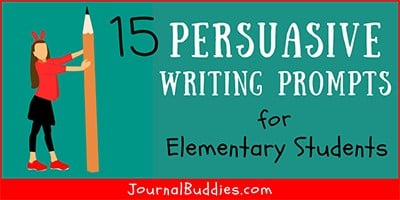 Elementary Level Persuasive Writing Topics