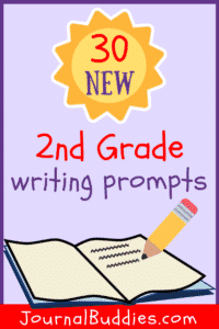 Use these writing prompts to get students who are new to writing interested in their journals and willing to begin writing regularly!
