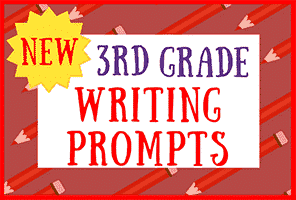 30 New 3rd Grade Writing Prompts