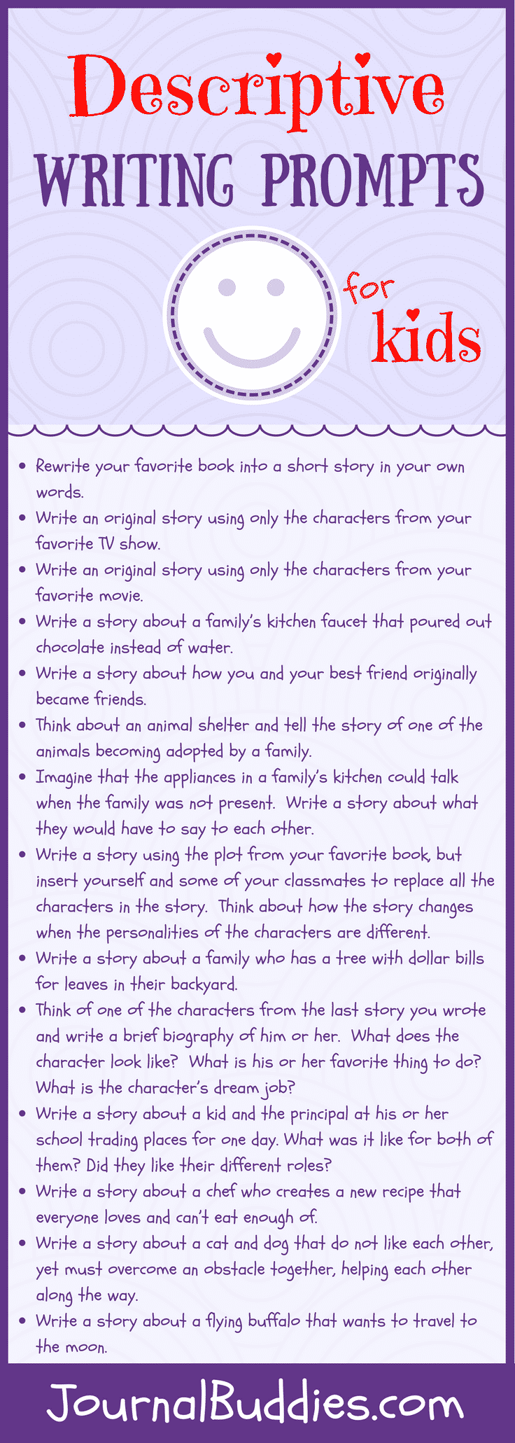 Writing Prompts for Storytelling