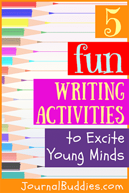 Use these five fun writing activities to excite young minds and to encourage your students to find joy in the act of creative expression.