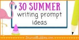 Summer Journal 30 New Writing Prompt Ideas