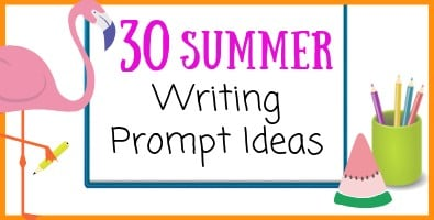 30 New Summer Writing Prompt Ideas