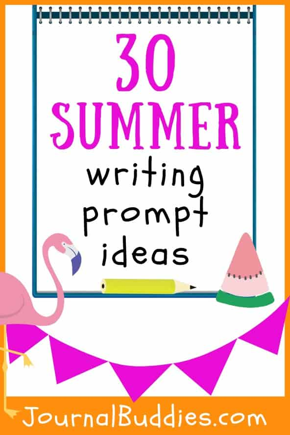 In these 30 new journal prompts, students will reflect on everything that makes summer such a unique time of year. Summer is a great time to encourage kids to keep writing and reflecting - and with these fun and festive summer journal prompts, your kids won't even feel like they're doing any work!