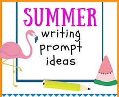 New Summer Writing Prompt Ideas for Kids