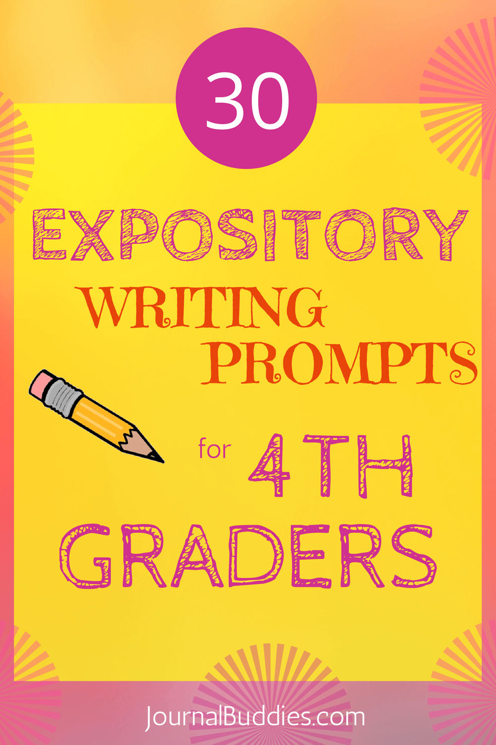 Use these 30 new expository writing prompts to help students better prepare for the academic rigors of the next step ahead of them
