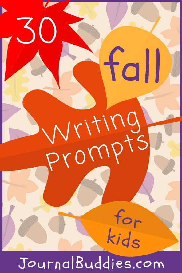 Use these autumn writing prompts to help your class prepare for fall and all of the festive memories that come along with it!