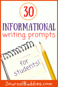 Use these new informational writing prompts to expose your students to new ideas and new ways of thinking about the everyday events going on around them!