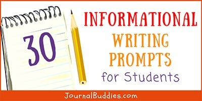 Kids Informational Writing Ideas