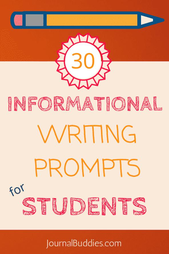 informative writing activities