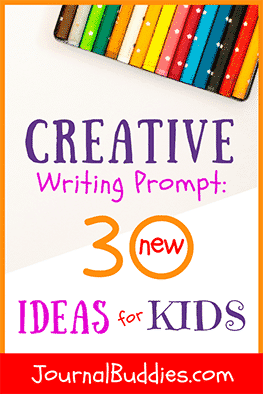 "The right writing prompts can help a kid who feels ""stuck"" to move past the writer's block and channel his or her inner creative genius."