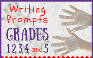 34 Writing Prompts Grades 1, 2, 3, 4, and 5