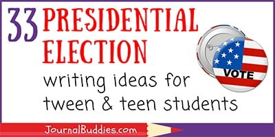 Election Writing Ideas for Students