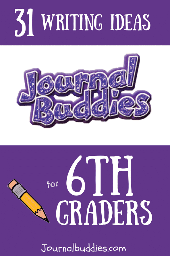 In these brand new journaling prompts for 6th graders, students will reflect on everything from what it means to be a good friend to what goals they hope to accomplish in the next few years.