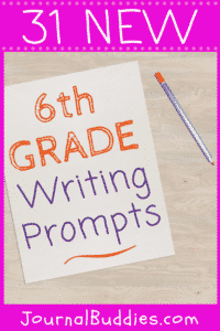 Use these 6th grade journaling prompts to give your students a safe, comfortable space to consider their thoughts and opinions without worrying about judgment from others!