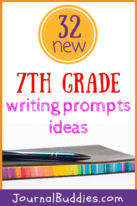 Use these brand new journal prompts for 7th graders to help your students better understand their thoughts, clarify their emotions, and articulate their opinions in a healthy, constructive way!