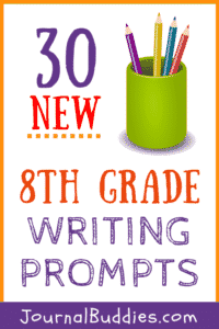 Use these brand new 8th-grade writing prompts to help your students prepare for the coming year and stay focused on all the challenges that lie ahead.