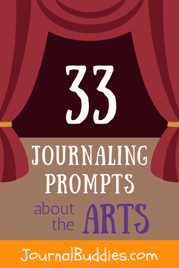 Whether you have students who are reluctant to create their own art, or whether you're simply looking to help your class learn to appreciate new mediums, these all new journal prompts on the arts will get kids thinking about the value and beauty of all sorts of creations.