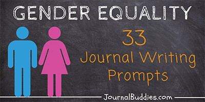 Gender Equality Writing Starters for Kids