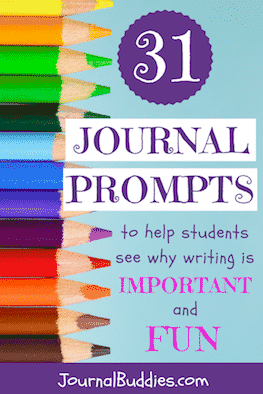 These 31 new journal prompts help kids see that writing matters by exploring themes like the importance of storytelling and how writing is used to disseminate ideas—and they also show how fun writing can be by asking them to reflect on topics like the most inspiring stories they've ever heard and the pride they feel when reading their own writing.