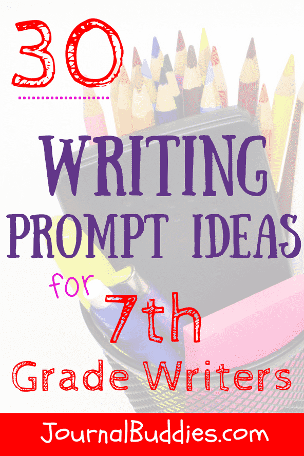 One of the best ways to help your 7th graders through this challenging transitional period is to show them how writing can serve as a safe outlet for all of their feelings and ideas.