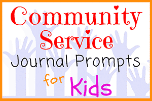 Community Service Journal Prompts for Students