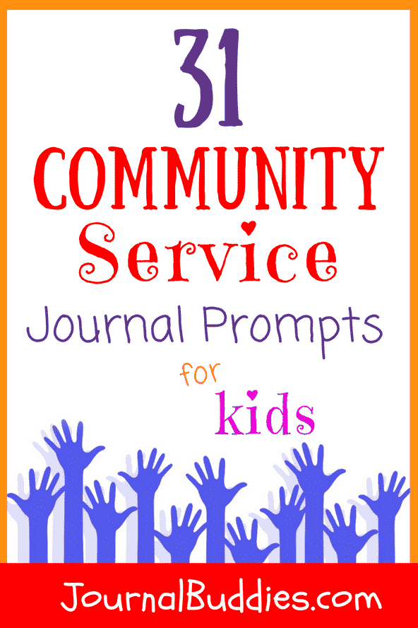 Use these community service journal prompts to help your students see the value of donating their time and efforts to causes and people who need their help!