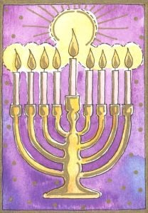 Hanukkah Holidday Writing Ideas for Kids