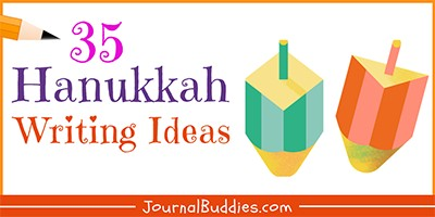 Hanukkah Journal Writing Prompts for Students