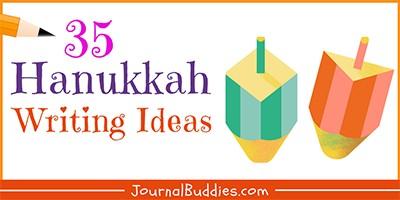 Hanukkah Writing Ideas for Kids