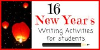16 New Years Writing Activities