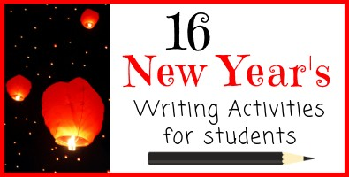 16 New Years Writing Activities