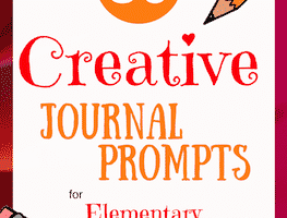 Use these all-new prompts with your elementary school students to help them unlock the joys of journaling!