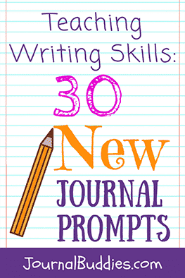 These 30 new journal prompts teach writing skills by asking your students to perform a number of different basic activities and exercises that professional writers use to improve their work.