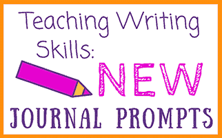 Journal Prompts to Teach Writing Skills