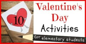 Valentine's Day Activities for Elementary Students