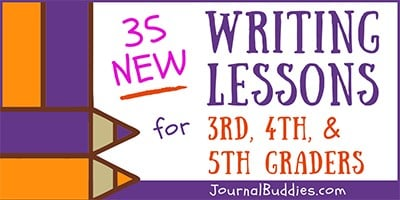Grade 3, 4, & 5 Writing Lessons