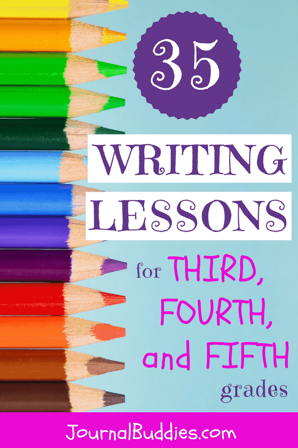 Writing Lesson Ideas for 3rd, 4th and 5th Graders