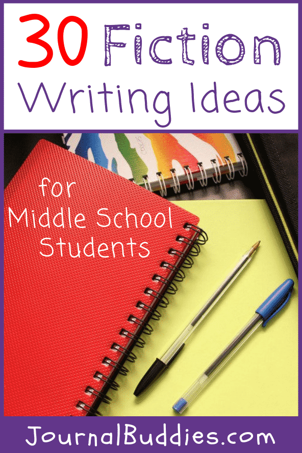 Fiction Writing Ideas and Topics for Middle School Kids