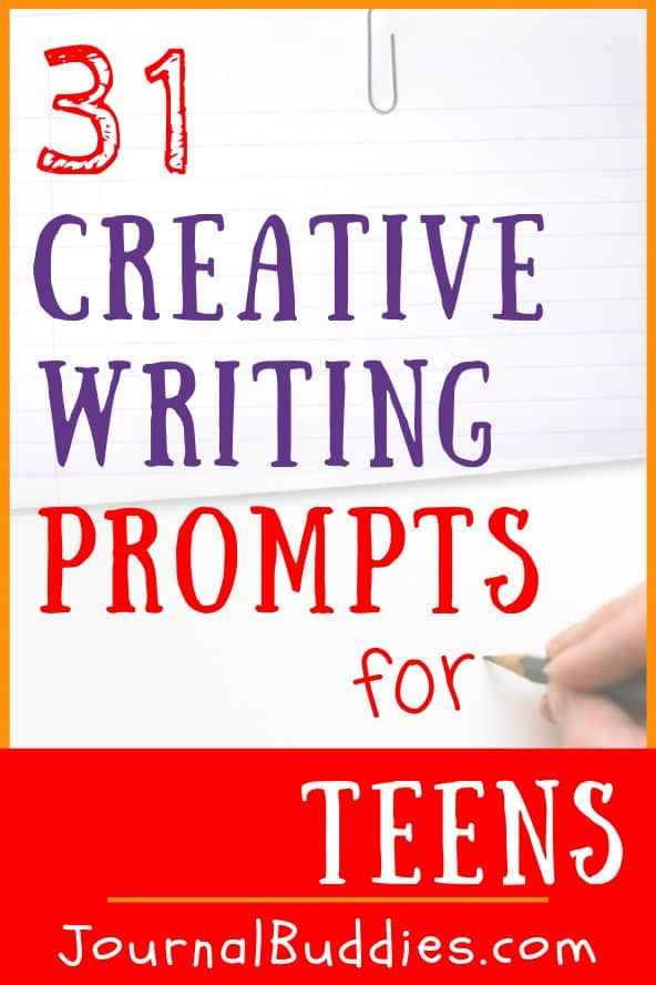 Teen Creative Writing Journal Prompts