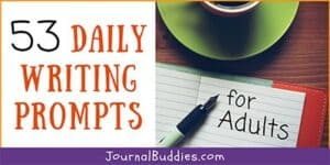Adult Daily Writing Ideas