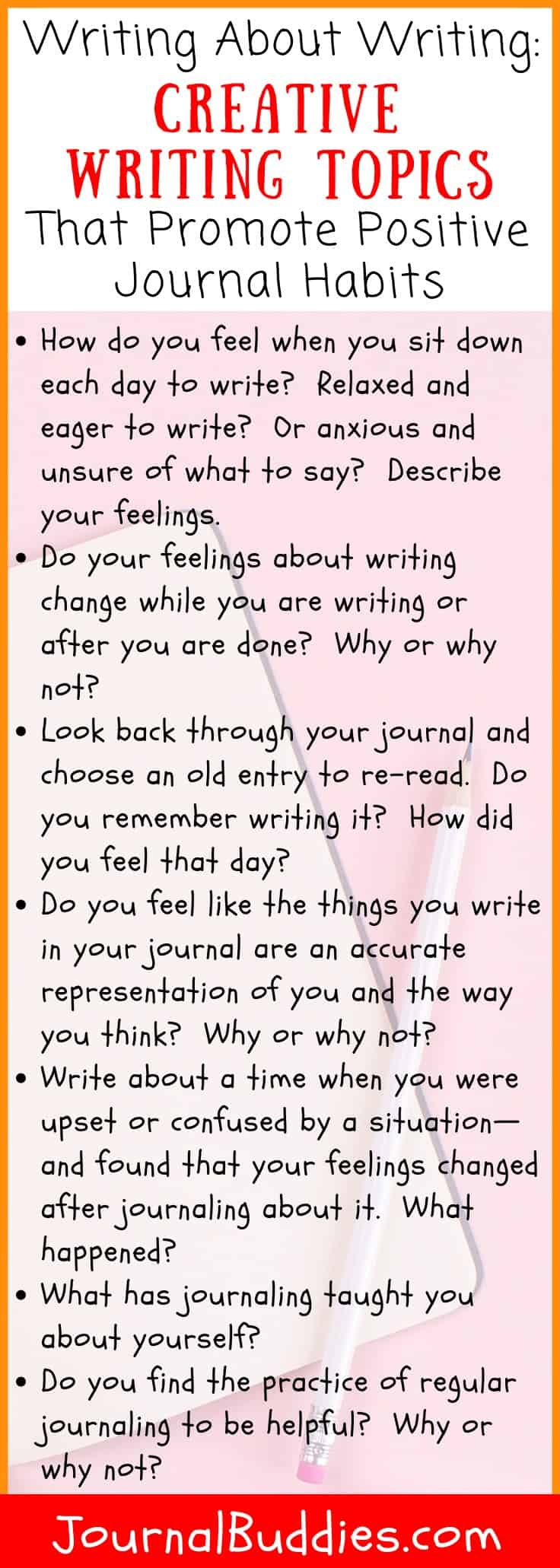 Guided Creative Writing Prompts for Fun Journaling