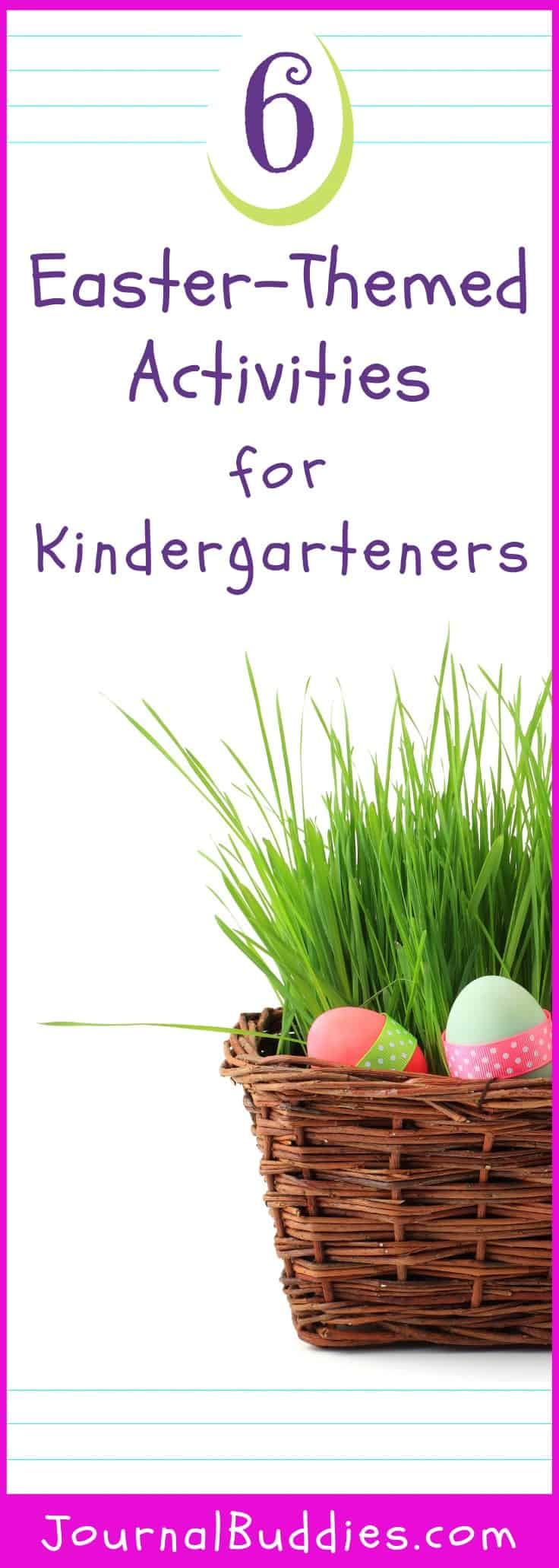 There are plenty of creative ways to incorporate the fun of Easter into the traditional curriculum subjects, including science, math, and writing. Here are some Easter activities you can consider using in your kindergarten classroom this year!