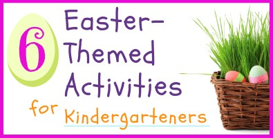 Easter Activities for Kindergarteners