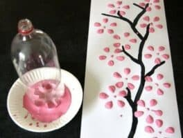 Cherry Blossom Tree Art Project